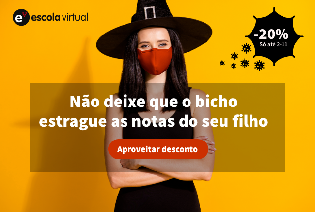 Halloween 2020 na Escola Virtual